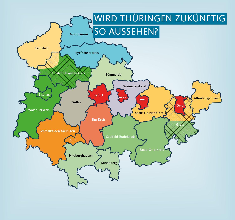 Cdu Fraktion Fordert Abbruch Der Rot Rot Grunen Gebietsreform