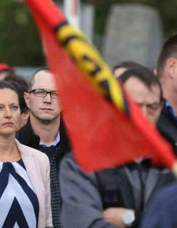 Stanislaw Tillich und Mike Mohring: Siemens hat auch eine gesellschaftliche Verantwortung