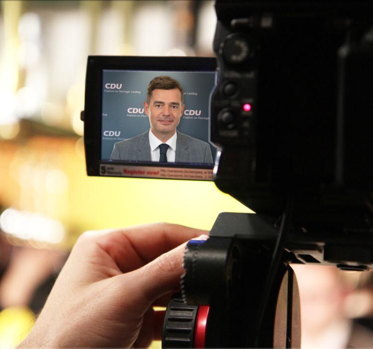 Pressekonferenz zum Gutachten über die Rechtmäßigkeit des Haushaltes 2020