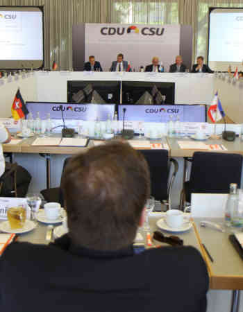 Große Fraktionsvorsitzenden- konferenz in Weimar