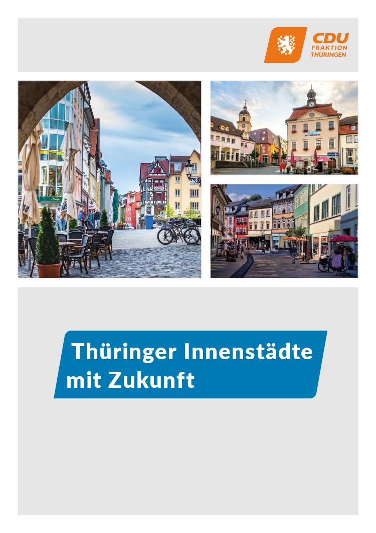 Thüringer Innenstädte mit Zukunft
