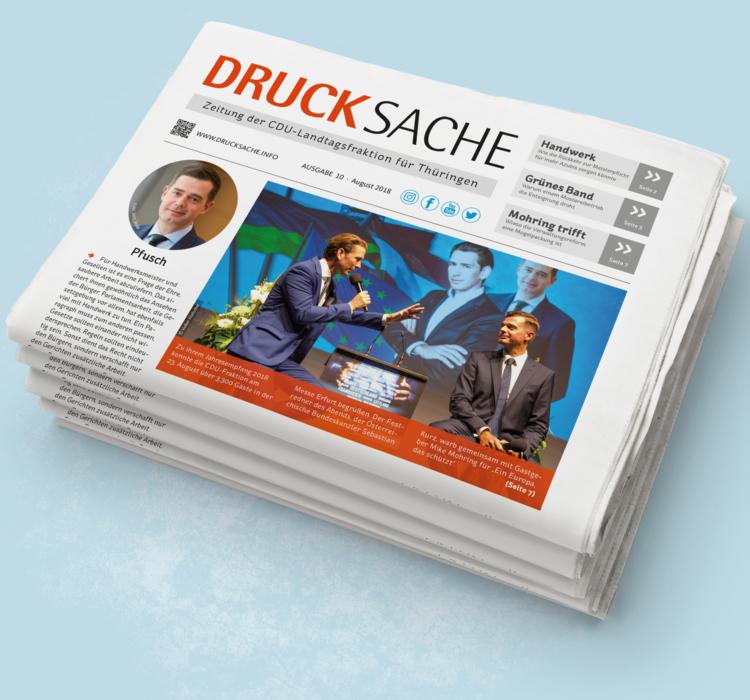 Die Zeitung der CDU-Fraktion online anschauen