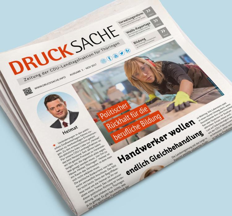 """November-Ausgabe der """"DruckSache"""": Handwerker wollen endlich Gleichbehandlung"""