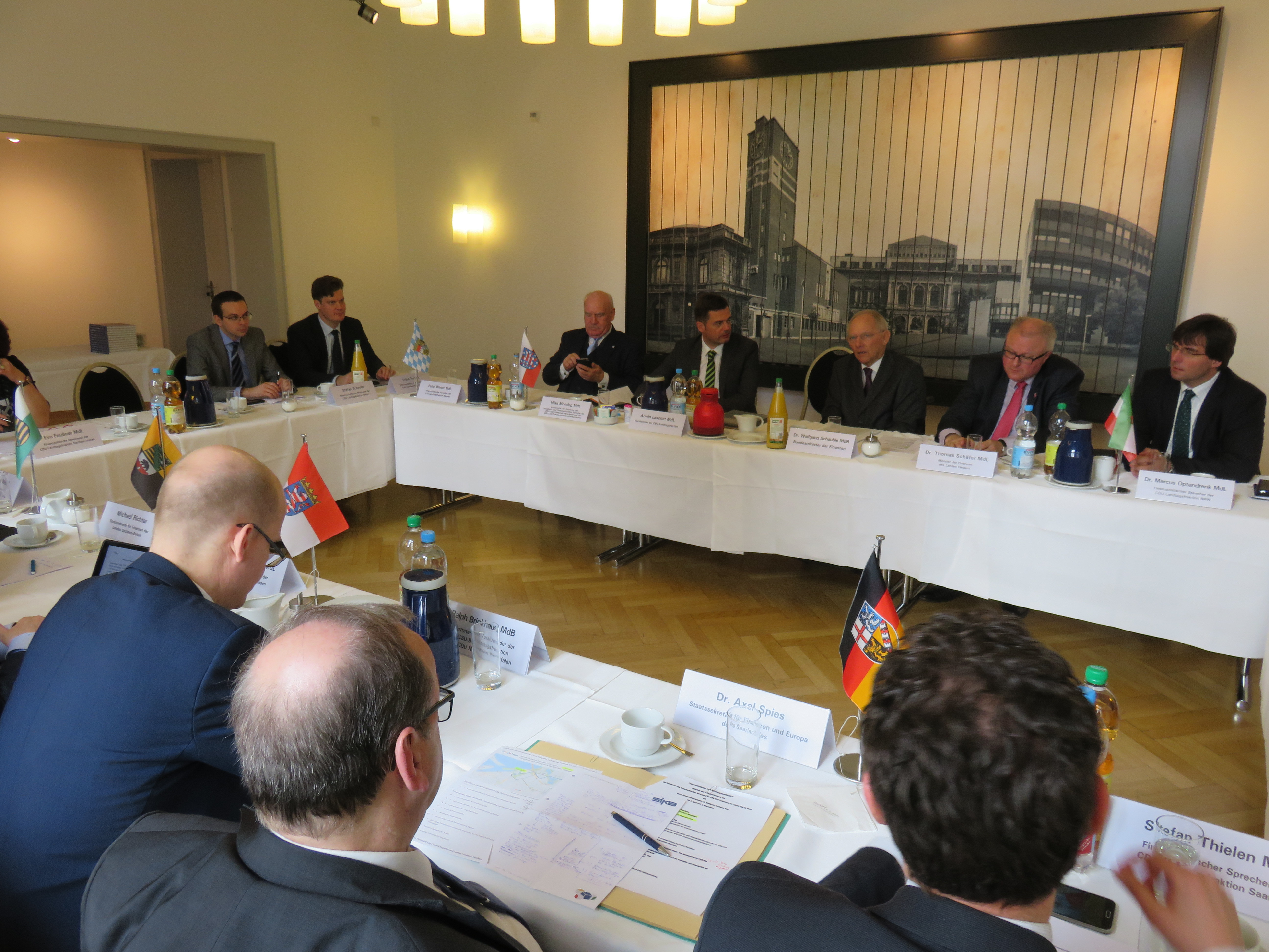Düsseldorfer Erklärung zur Finanzpolitik