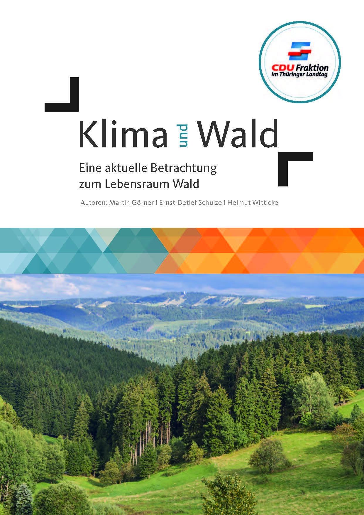Heft: Klima und Wald