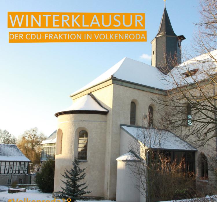 CDU-Fraktion trifft sich zur Winterklausur in Volkenroda