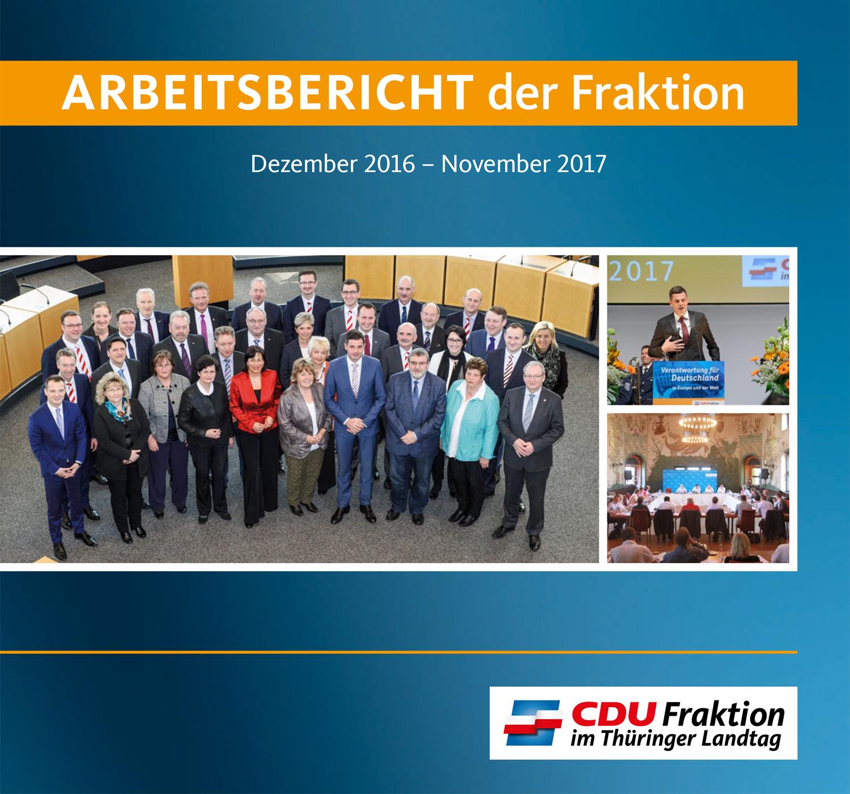 Arbeitsbericht Dezember 2016 - November 2017