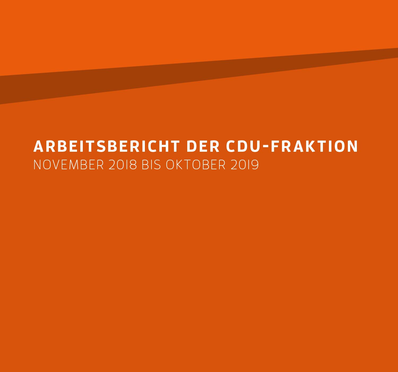 Arbeitsbericht November 2018 – Oktober 2019
