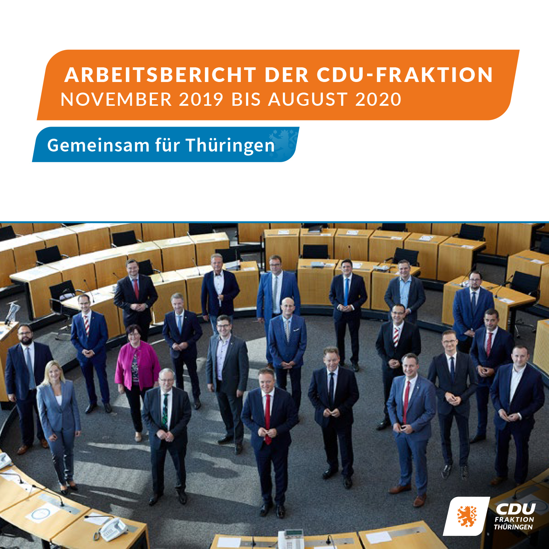 Arbeitsbericht  November 2019 – August 2020