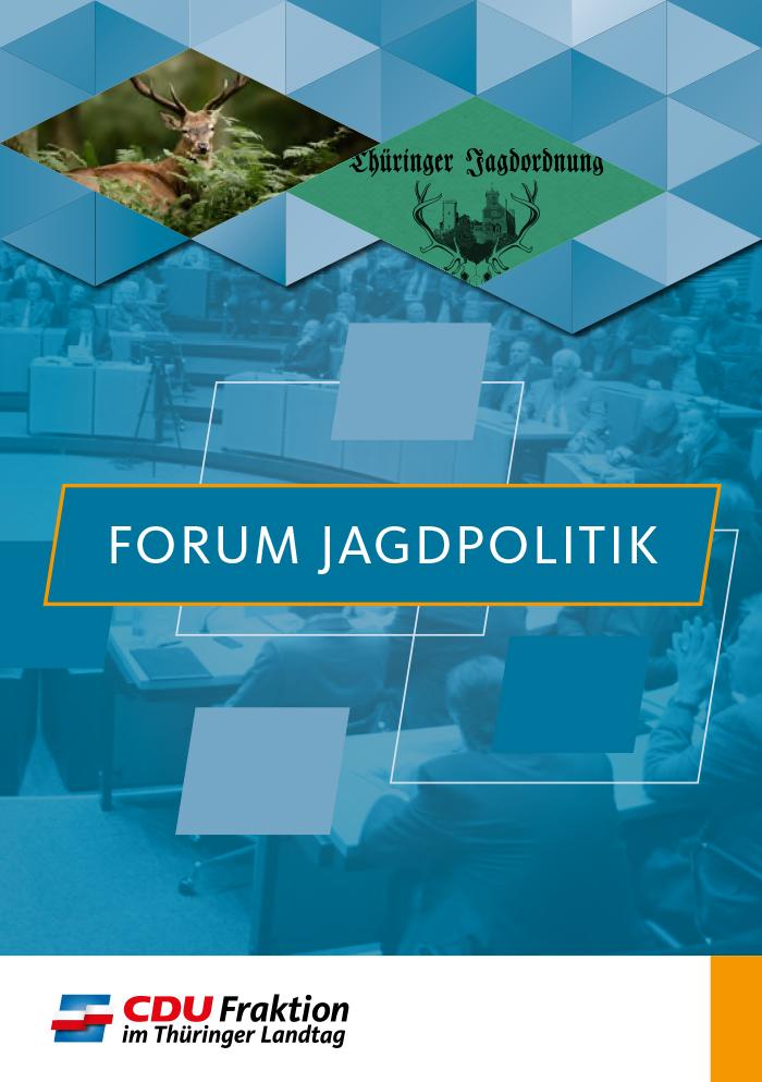 Broschüre zum Forum Jagdpolitik