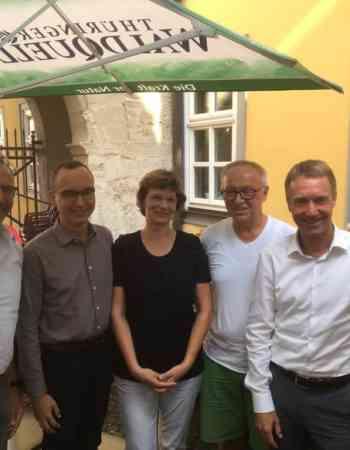 Zur diesjährigen #Sommerklausur trifft sich die CDU-Fraktion im Thüringer Landtag in und um Sondershausen. Die Arbeitskreise informieren sich nach dem heißen Sommer u.a. über die Auswirkungen auf Forst und Landwirtschaft.